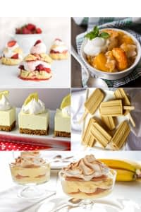 Five Desserts to Complete Your Summer