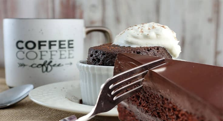 Make a Chocolate Cake In Minutes
