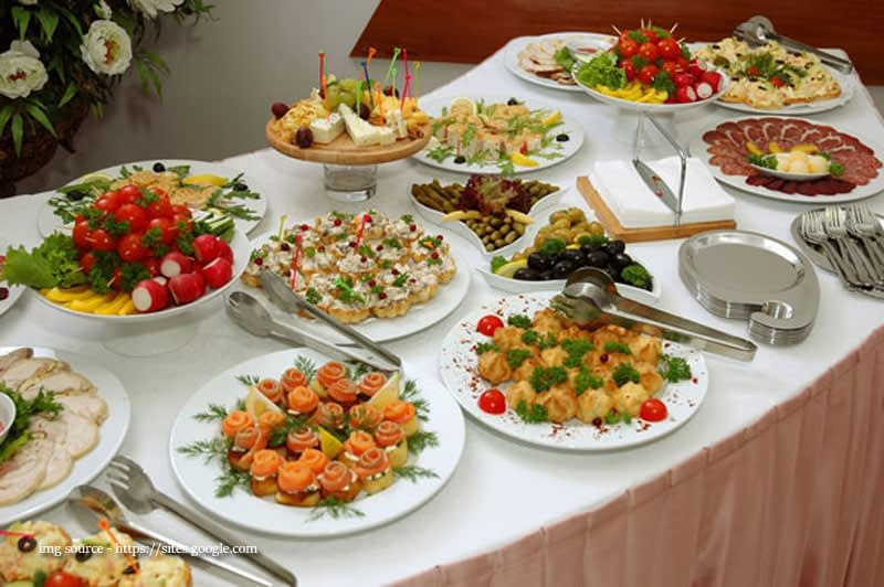 The Right Food Will Make Your Event Perfect